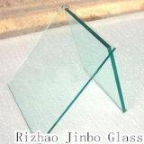 4mm-19mm plats/ont déplié la glace Tempered, verre trempé avec le certificat de CCC/Ce/SGS (JINBO)