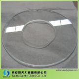 Glace Tempered claire ronde de Taian 4mm pour l'éclairage