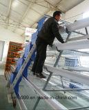 Qualitäts-Stahlgeflügel bringen Huhn-landwirtschaftliche Maschinen unter