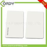 impresión de acabado brillante tarjeta de 125kHz EM4200 PVC térmica en blanco blanca