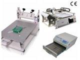 SMT Zeile, Neoden3V Auswahl und Platz-Maschine, Schablone-Drucker, Rückflut-Ofen