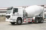 中国HOWOのブランド6-16m3容量の具体的なミキサーのトラック