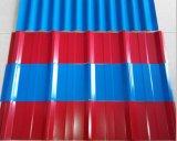 건축재료를 위한 색깔 Corruagated 루핑 장