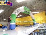 販売のためのロゴプリント/膨脹可能な開始および決勝線アーチの/inflatableのスポーツのアーチのゲートが付いている膨脹可能な連続したアーチ