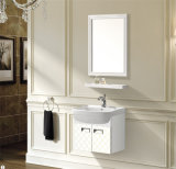 Salle de bains en aluminium armoire / espace douche cabinet d'aluminium de magnésium (T-9729)