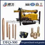 石および水穴の穴ボーリングのためのDfq-300 DTHの掘削装置