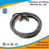 Conector del cable del arnés del cableado de encargo del surtidor de la fábrica para el componente de la máquina