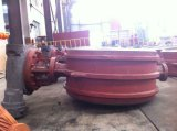 Клапан-бабочка литой стали Py16 Dn500 сваренная прикладом (d373h0dn500-16c)