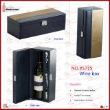 Casella di memoria di lusso del vino (5715)