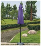 ليف زجاجيّ خارجيّة حديقة مظلة شمسيّة مع ميل