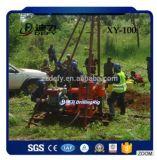 Plataforma de perforación portable barata del receptor de papel de agua Xy-100 de China