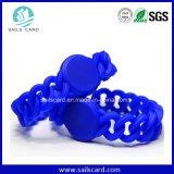 Großhandelspapier/weich Kurbelgehäuse-Belüftung/Gewebe/SilikonNFC WristbandRFID Wristband