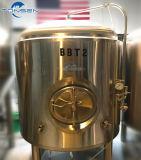 Serbatoio rivestito di Brite della fabbrica di birra della birra dell'acciaio inossidabile da vendere