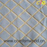 Flocado sofás tapizados Material 100% Poliéster TEJIDO Chenilla diseño de flor