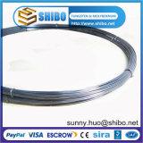 El 99,95% Puro de alambre de molibdeno, el cable negro de molibdeno