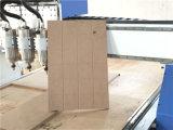 Macchina di legno per i portelli di legno, mobilia del router di CNC degli assi di rotazione pneumatici