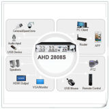 High Definition Hybrid 8 Channel 1080P Ahd DVR Recorder DVR autônomo