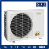 CE, certificado 220V R410A 3kw, 5kw, 7kw, pompa de Australia, Nueva Zelandia de calor doméstica máxima de la agua caliente de 9kw 60deg c pequeña agua-aire