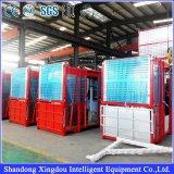 Elevación aprobada Ce de la construcción del precio de fábrica, elevador de la elevación de los materiales de la construcción de edificios