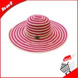 Chapéu de chapéu flexível Chapéu de palha Chapéu de palha Chapéu de chapéu de chapéu de palha