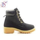 Приспособленная семьей работа деятельности безопасности впрыски детей малышей Boots ботинки для напольной работы (ЧЕРНОТА SVWK-1609-048)