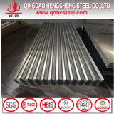G60 SGCC Hot DIP Feuille de toiture en zinc galvanisé ondulé