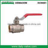 Fatto nell'ottone di qualità della Cina ha forgiato la valvola a sfera dell'impianto idraulico (AV10077)