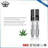 Bud l'atomizer 0.5ml double à usage unique des bobines de la cartouche d'huile de chanvre CBD Vape Vape Pen Mods