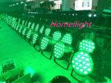 54HP X 3W RGB PAR A lâmpada de luz de parte do clube