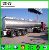 Chinesische Tri-Welle 45000L rostfreier Heizöl-Tanker-LKW-halb Schlussteil