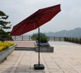 Parasol à parasol extérieur à parapluie solaire au soleil avec parapluie lumineux à LED