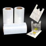 Película plástica do pacote branco do PE