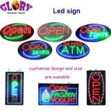 高く明るいLEDの開いた印ATMの印