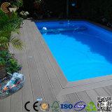 Rivestimento per pavimenti della piattaforma vuota della piscina di WPC (TW-02)