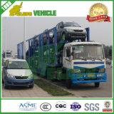 Vrachtwagens van de Auto-carrier van het Vervoer van China de Fabriek Geleverde Met Semi Aanhangwagen