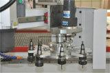 顧客自動ツールのチェンジャーが付いている作られた3つの軸線1632年のCNCのルーター