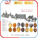 Remplissage / infiltration de riz Cereal Puffs Snack Food Machinery