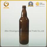 Горячие продавая бутылки пива крышки кроны 650ml Brown стеклянные (716)