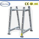Niveau d'haltères longues Barbell Rack rack/olympic/détenteur d'haltères longues