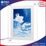 Marco de acrílico lindo de la foto del imán del refrigerador de la oferta del Manufactory de China