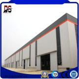 Edificios de acero y estructuras de la instalación fácil del bajo costo que ensamblan