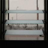vidrio helado Windows templado alta calidad de la lumbrera del edificio de oficinas de 8m m