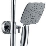 衛生製品の陶磁器の単一のハンドルの真鍮のにわか雨の一定の壁に取り付けられた降雨量の浴室のシャワーセット