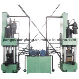 Chatarra chip compactador Máquina de briquetas de prensa que hace la máquina