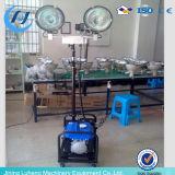 4 * 400W LED Diesel torre de luz hidráulica (HW-400)