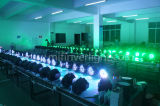 LEIDEN van de Was van het Gezoem Rgbwauv van de LEIDENE Verlichting 18PCS*15W van het Stadium 6in1 PARI