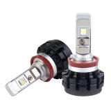 Mandril de luz LED de Ángulo Ajustable impermeable DRL H11