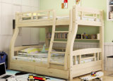 Cama de cucheta de madera sólida de los niños de las camas de cucheta del sitio de la cama (M-X2218)