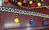 2017 новых местных умельцев деревянные бусины кружево льготах для одежды