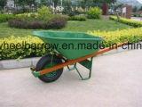 Outils et brouette de roue agricoles de matériel Wb4024A pour le marché de la Russie